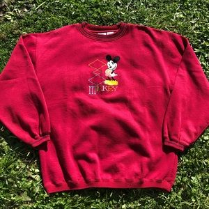 Vintage Mickey Mouse Men's Crewneck